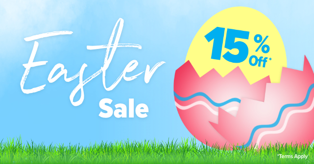 Easter Sale | 15% Off